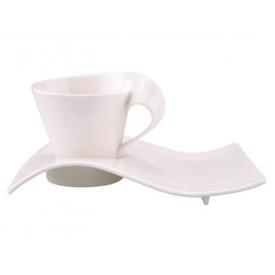 Filiżanka do cappuccino z talerzykiem Villeroy & Boch NewWave Caffe 250 ml