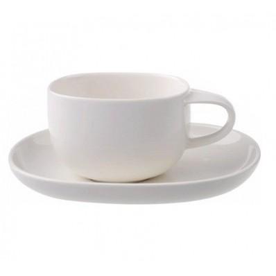 Filiżanka do kawy lub herbaty ze spodkiem w komplecie Villeroy & Boch Urban Nature 240 ml