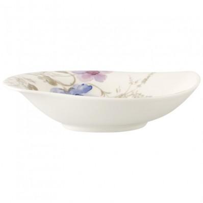 Miska do serwowania Villeroy & Boch Mariefleur Gris Serve & Salad, 21 x 18 cm