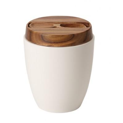 Pojemnik na herbatę z łyżeczką Villeroy & Boch Artesano Original, 0,85 l