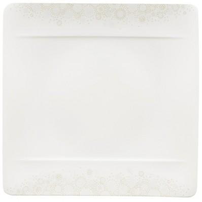 Talerz płaski Villeroy & Boch Modern Grace Grey, 27 x 27 cm
