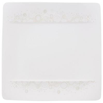 Talerz sałatkowy Villeroy & Boch Modern Grace Grey, 23 x 23 cm