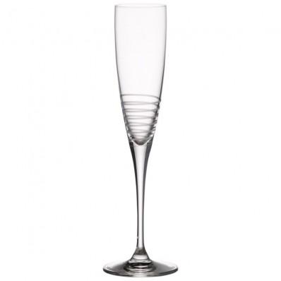 Komplet 6 kieliszków do szampana Villeroy & Boch Maxima Decorated spirale, 26,5 cm