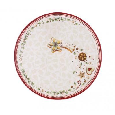 Talerz na przekąski Gwiazda Villeroy & Boch Winter Bakery Delight, 23,5 cm