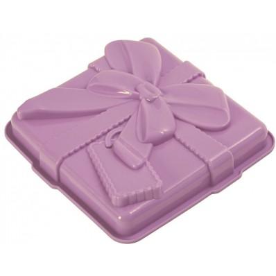 PAV - Forma na ciasto/tort GIFT,fioletowa(PREZENT)
