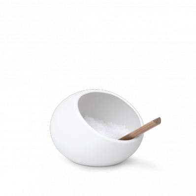 Pojemnik na sól Rosendahl, biały