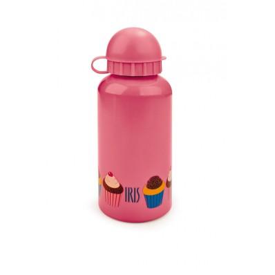 Iris - Butelka na napoje dla dzieci, różowa