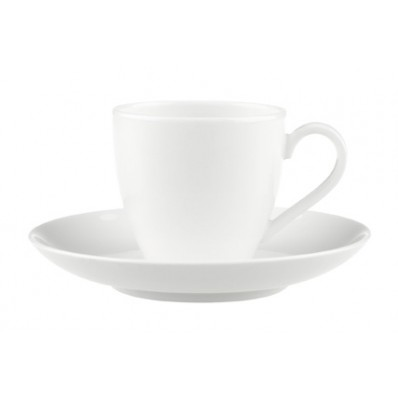 Filiżanka do espresso ze spodkiem Villeroy & Boch Anmut, 0,1 l