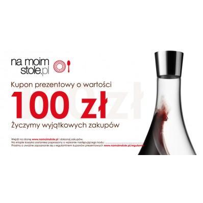 Bon prezentowy NaMoimStole.pl 100 zł
