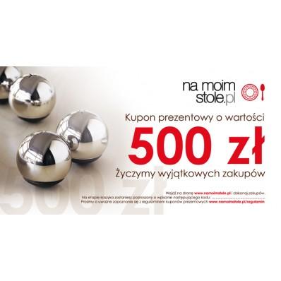 Bon prezentowy NaMoimStole.pl 500 zł