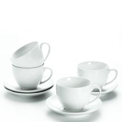Zestaw do kawy i herbaty Maxwell & Williams Cashmere Round dla 12 osób