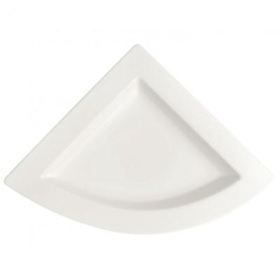 Talerz trójkątny Villeroy & Boch NewWave 22 x 22 cm