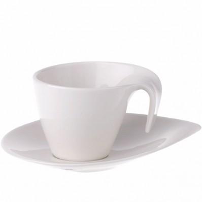 Filiżanka do kawy ze spodkiem w komplecie Villeroy & Boch Flow 200 ml