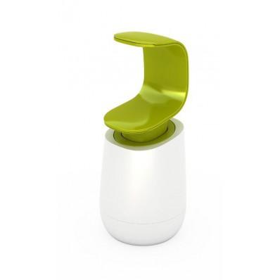 Dozownik na mydło lub płyn do naczyń Joseph Joseph C-pump, biało-zielony