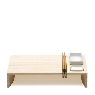 Zestaw do sushi z miseczkami  i pałeczkami Legnoart Kobe