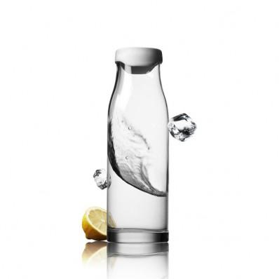 Karafka do wody Menu Water & Wine z białą pokrywką