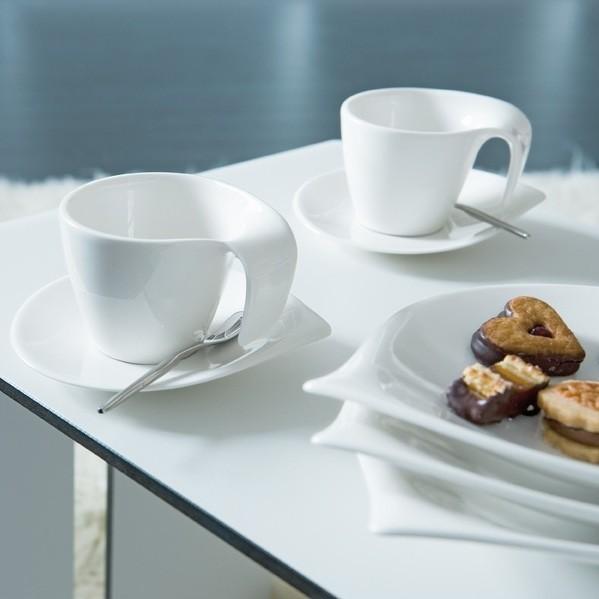 serwis do kawy 6 villeroy boch flow. Black Bedroom Furniture Sets. Home Design Ideas