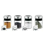 Zestaw 4 pojemniczków do przypraw, WMF Depot