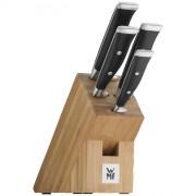 Zestaw noży z blokiem WMF GRAND CLASS, 5 elementów