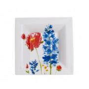Miseczka kwadratowa Villeroy & Boch Anmut Flowers Gifts, 14 x 14 cm