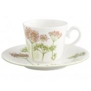Filiżanka do kawy/herbaty ze spodkiem Villeroy & Boch Althea Nova, 0,2 l