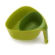 JJ - Zestaw 2 durszlaków, zielony, Nest™