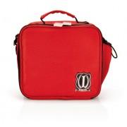 Iris - Mini Lunch Box SCHOOL, czerwony