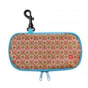 Iris - Lunch bag na kanapkę, podłużny, niebieski