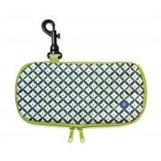 Iris - Lunch bag na kanapkę, podłużny, zielony
