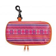 Iris - Lunch bag na kanapkę, podłużny,pomarańczowy
