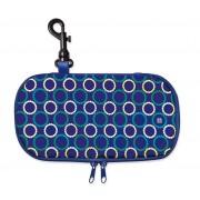 Iris - Lunch bag na kanapkę, podłużny, granatowy