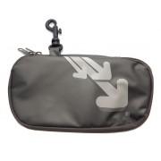 Iris - Lunch bag na kanapkę,podłużny, grafitowy