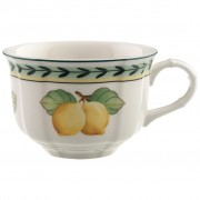 Filiżanka do herbaty ze spodkiem Villeroy & Boch French Garden Fleurence, 0,20 l