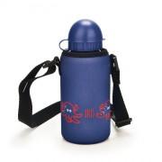 Iris - Butelka z pokrowcem SNACK RICO, granatowy