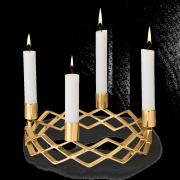 Świecznik adwentowy Rosendahl Grand Cru, złoty