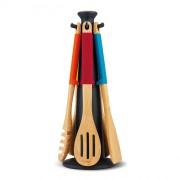 JJ - Zestaw narzędzi drewnianych ELEVATE  kolor