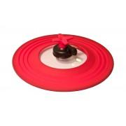 PAV -COPE Przykrywka z regulacją,16-24 cm,czerwona