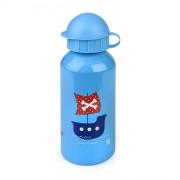 Iris - Butelka na napoje dla dzieci- statek, nieb.