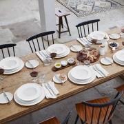 Serwis obiadowo-kawowy Villeroy & Boch Artesano Original dla 12 osób ( 55 elementów)