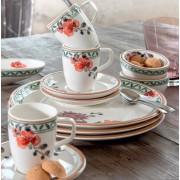 Serwis obiadowo-kawowy Villeroy & Boch Artesano Provencal dla 12 osób (52 elementy)