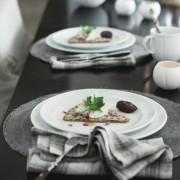 Serwis obiadowy Rosendahl Grand Cru Soft dla 8 osób (27 elementów)