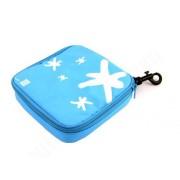 Lunch bag na kanapkę Iris kwadrat, niebieski