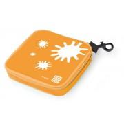 Lunch bag na kanapkę Iris kwadrat, pomarańczowy