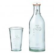 Komplet szklanka i butelka na wodę Jamie Oliver Eko