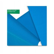 Obrus United Colors of Benetton Onecolour blue, 220 x 140 cm