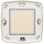 Półmisek kwadratowy Villeroy & Boch Charm & Breakfast French Garden, 30 cm