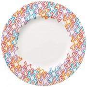 Talerz obiadowy Villeroy & Boch Anmut Geometry, 27 cm