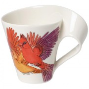 NewWave Caffè kubek do kawy Red Cardinal