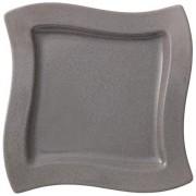 NewWave Stone Talerz sałatkowy kwadrat 24x24cm