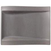 NewWave Stone Talerz sałatkowy prostokątny 26x20cm